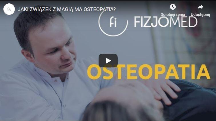 Osteopatia to nie czary mary