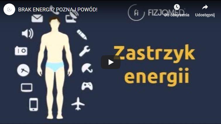 Zastrzyk energii - Fizjomed Centrum Osteopatii i Fizjoterapii Kraków