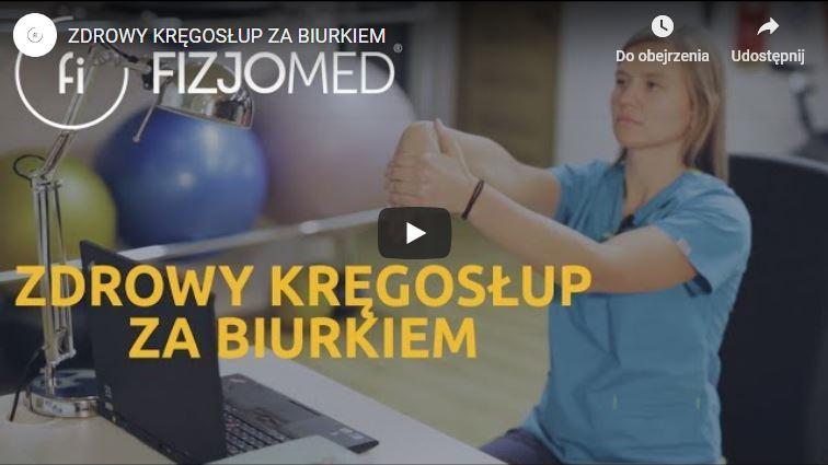 Zdrowy kręgosłup za biurkiem - Fizjomed Katarzyna Proficz