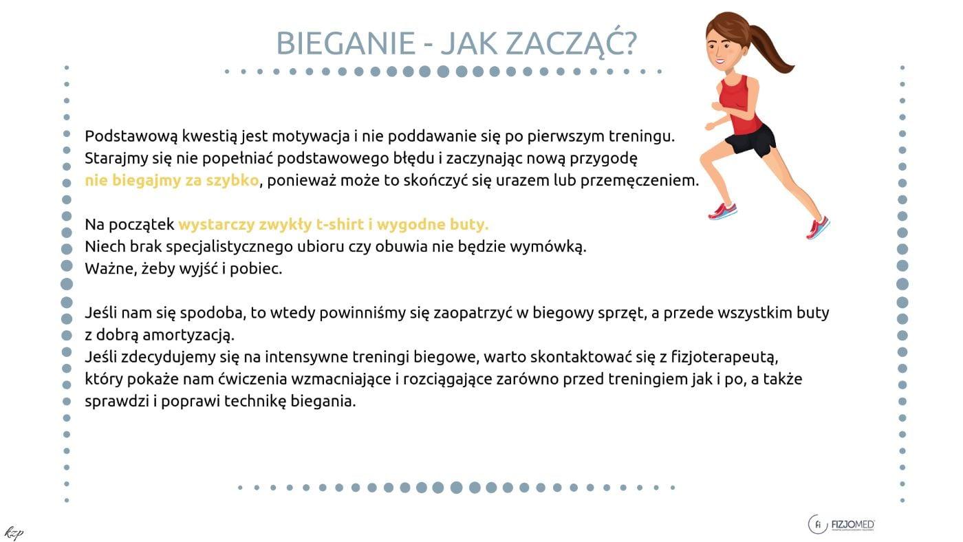 Bieganie jak zacząć zalety biegania jak biegać