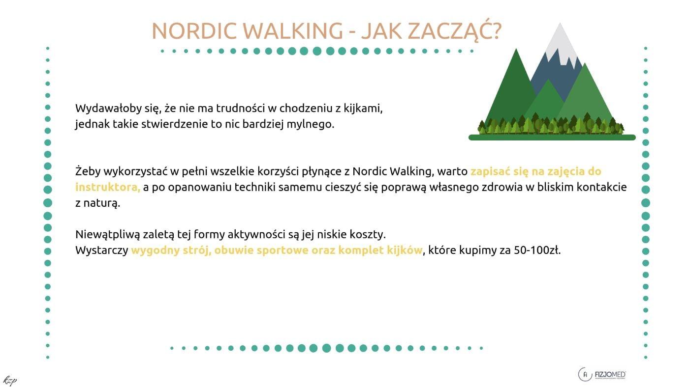 Nordic walking, jak zacząć chodzić z kijkami, co jest potrzebne do nordic walking