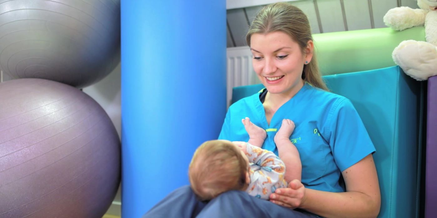 Wizyta z niemowlęciem u fizjoterapeuty