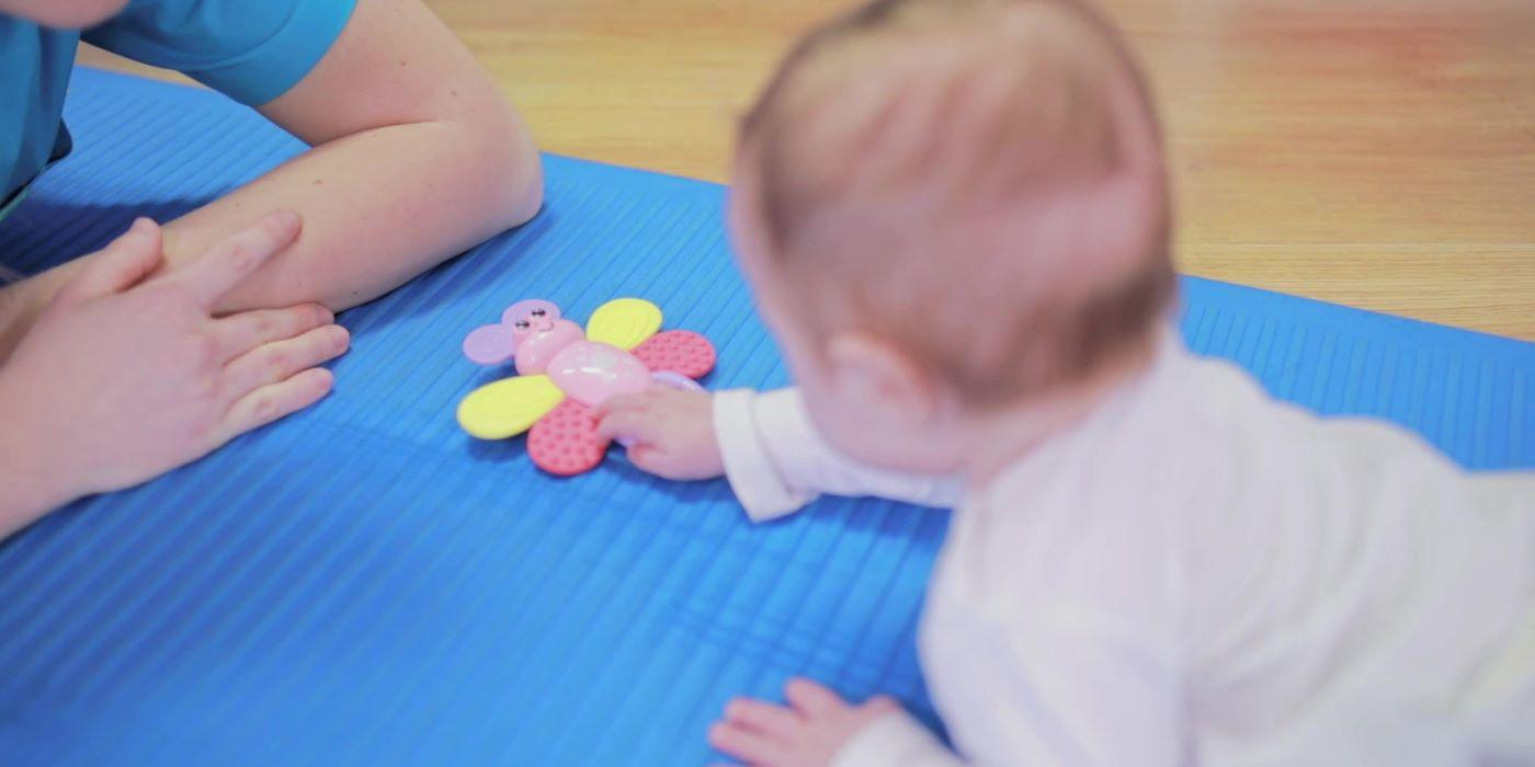 Zabawy z dzieckiem w pierwszym roku życia