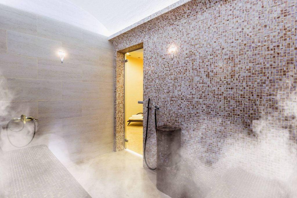 sauna parowa mokra