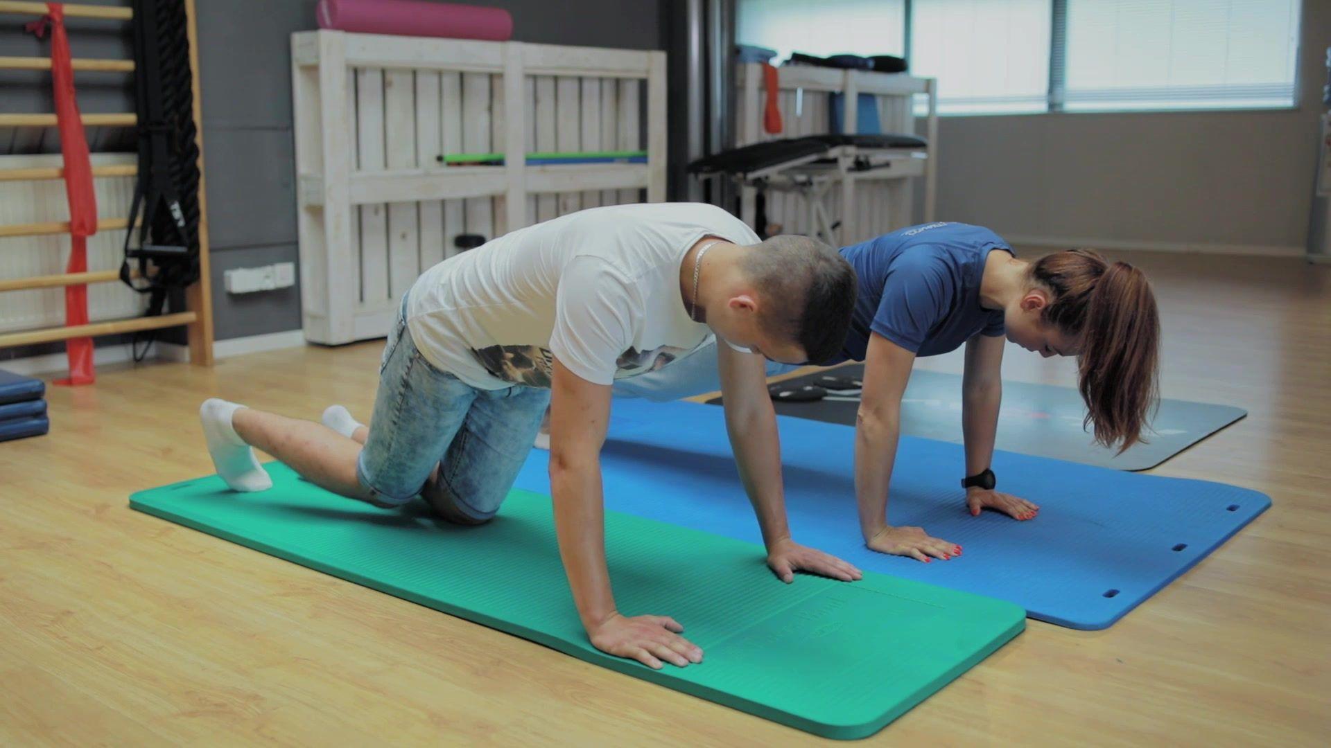 wpływ cwiczeń w procesie rehabilitacji