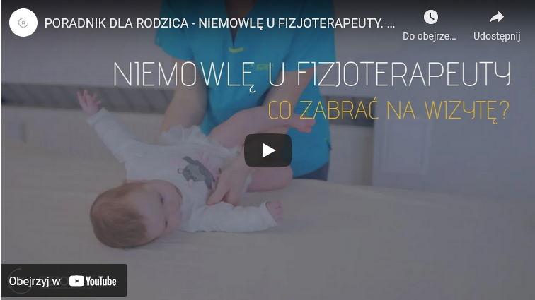 Co zabrać na pierwszą wizytę u fizjoterapety z niemowlęciem