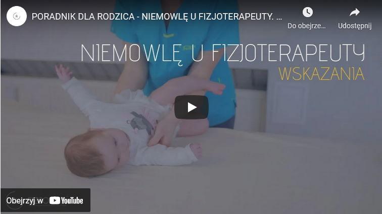 wskazania do fizjoterapii niemowląt