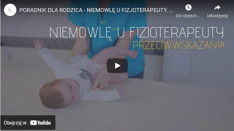 Przeciwwskazania do fizjoterapii niemowląt