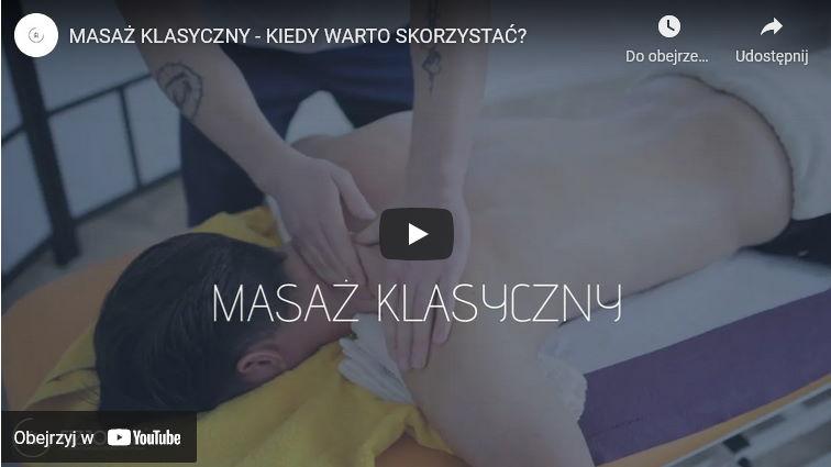 klasyczny masaż