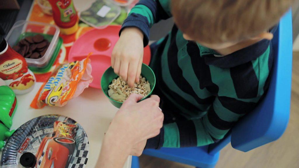 wizyta u psychologa karmienie dziecka