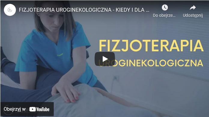 poradnik w formie filmu o fizjoterapii urologinekologicznej